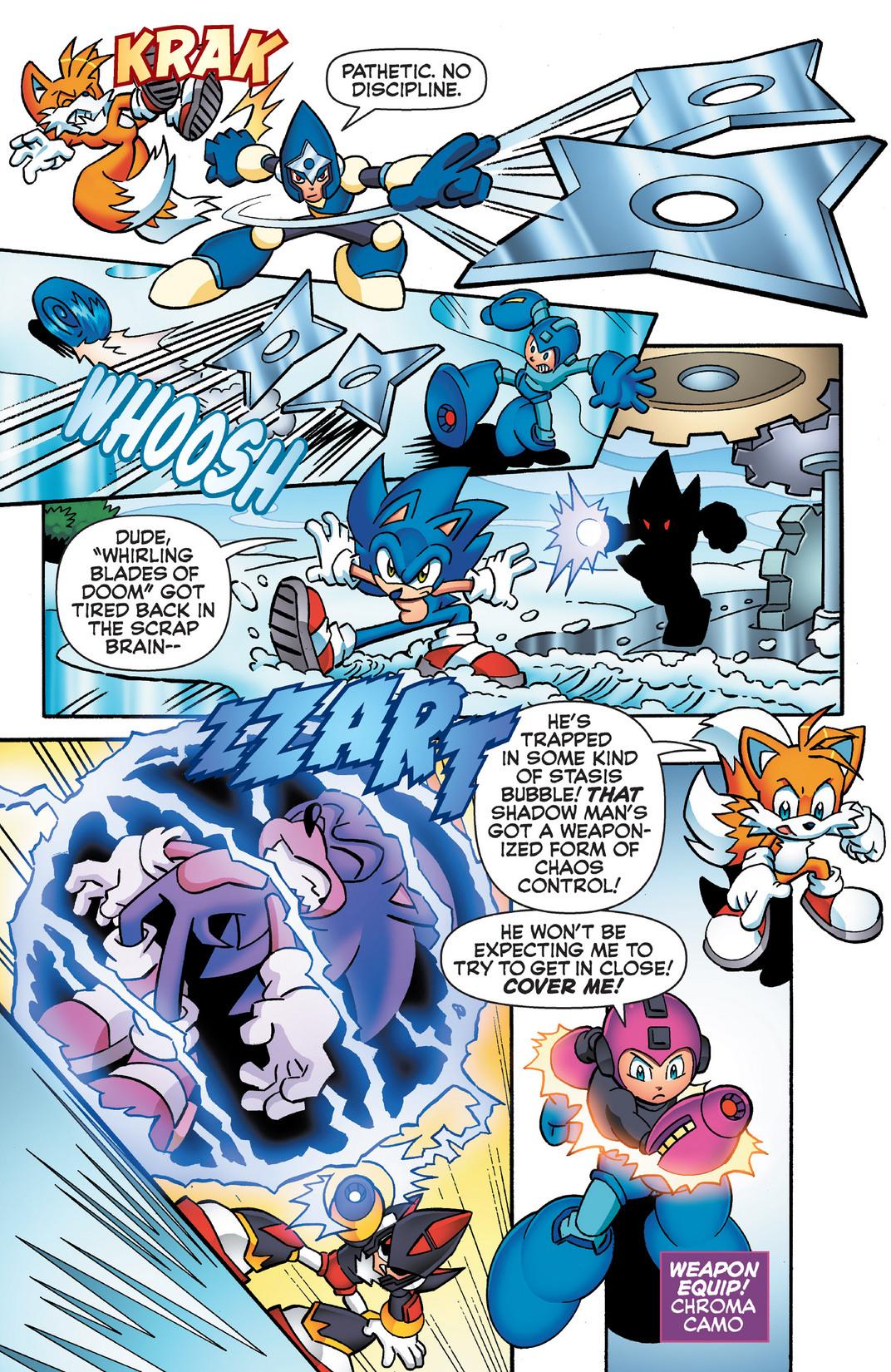 Read online Sonic Mega Man Worlds Collide comic -  Issue # Vol 2 - 64