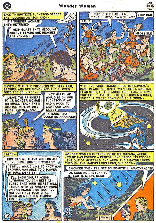Read online Wonder Woman (1942) comic -  Issue #38 - 28