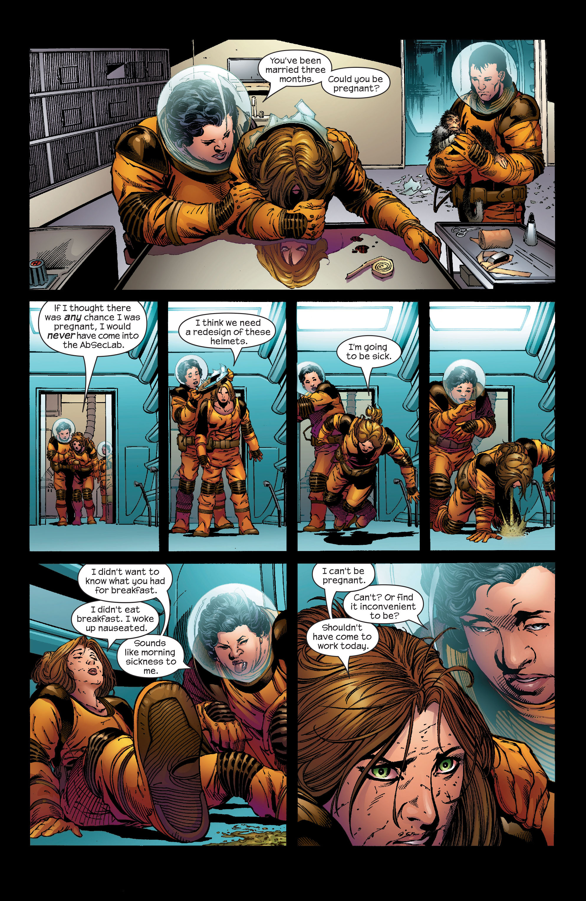 Read online Ultimate Iron Man (2005) comic -  Issue #1 - 16