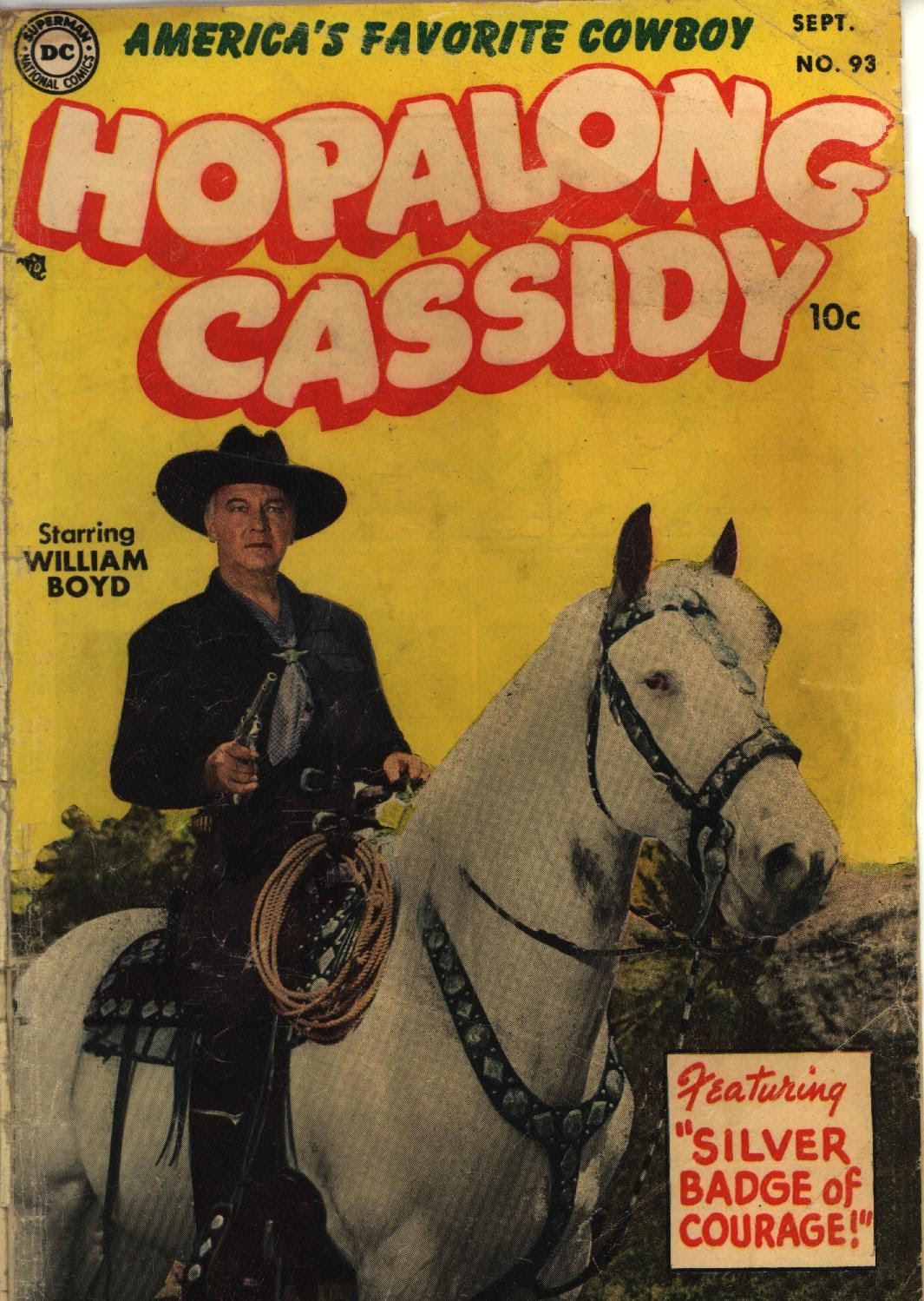 Hopalong Cassidy issue 93 - Page 1