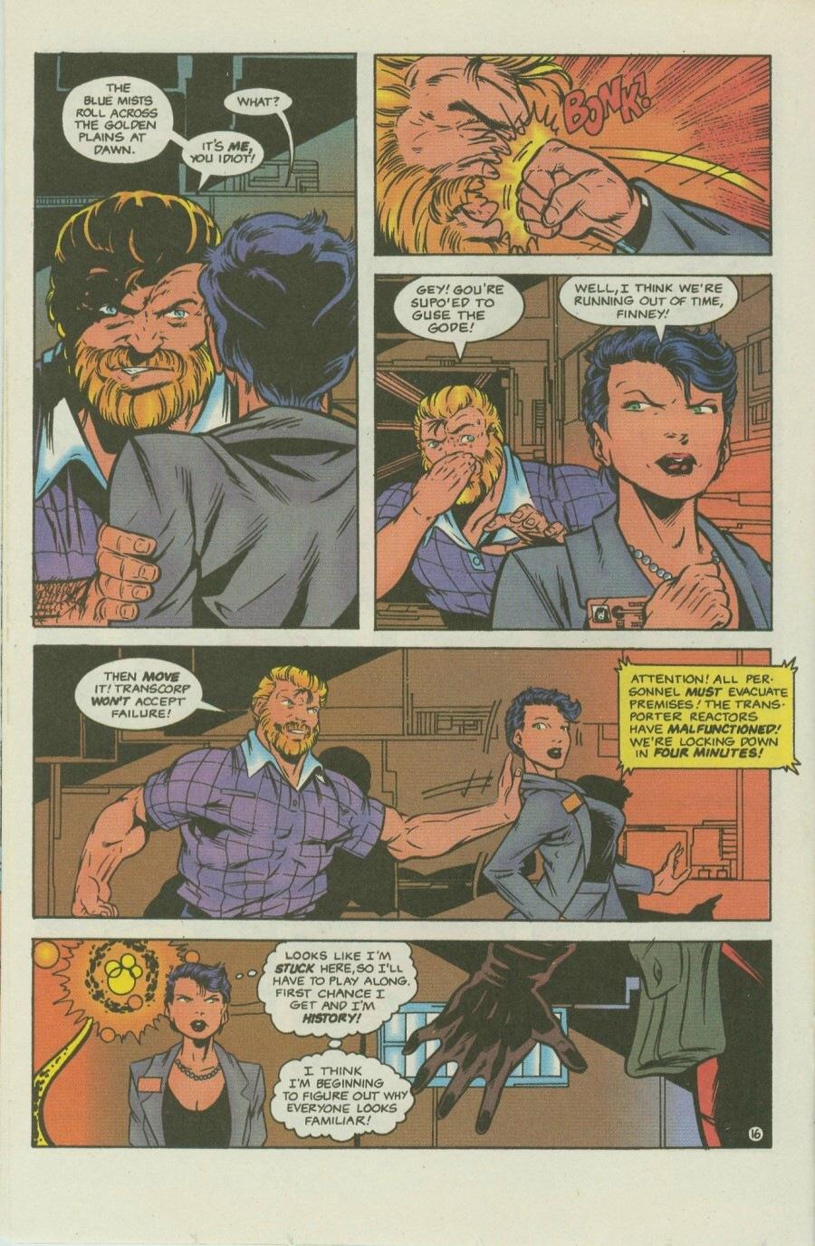 Read online Ex-Mutants comic -  Issue #8 - 19