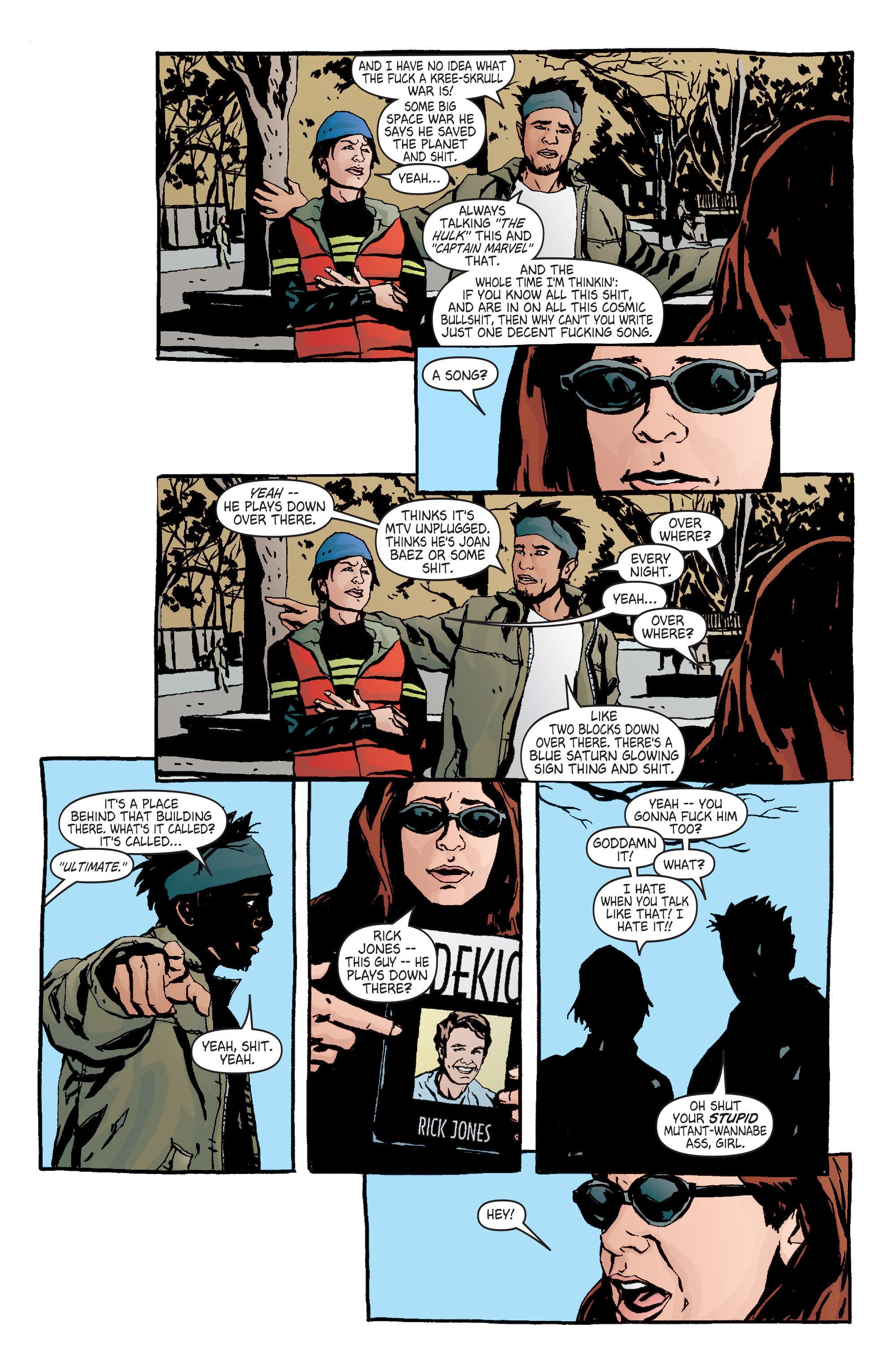 Read online Alias comic -  Issue #7 - 14