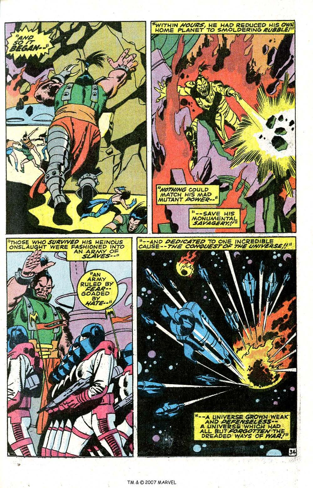 Read online Silver Surfer (1968) comic -  Issue #6 - 41