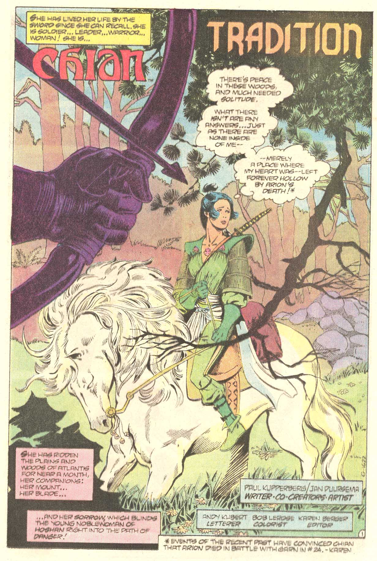 Read online Arion, Lord of Atlantis comic -  Issue #27 - 16