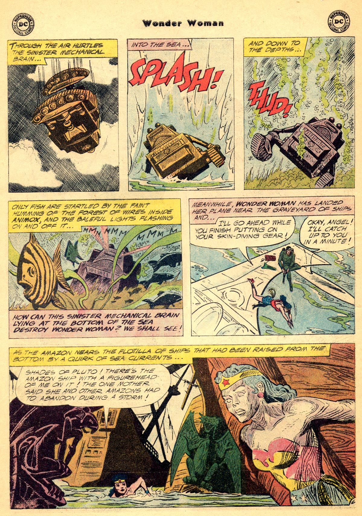 Read online Wonder Woman (1942) comic -  Issue #115 - 8