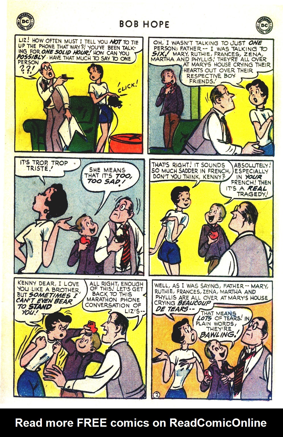 The Adventures of Bob Hope issue 27 - Page 37