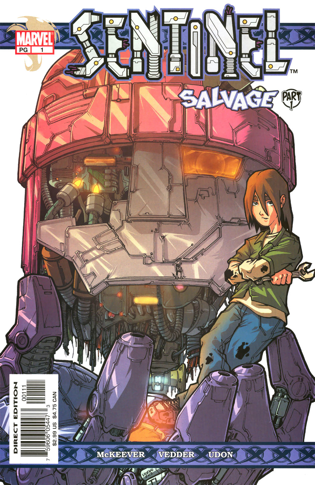 Read online Sentinel comic -  Issue #1 - 1
