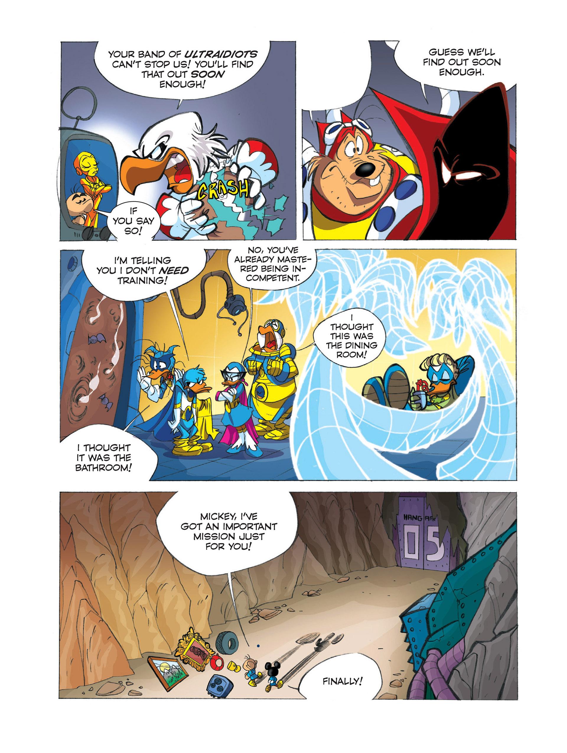 Read online Ultraheroes comic -  Issue #2 - 10