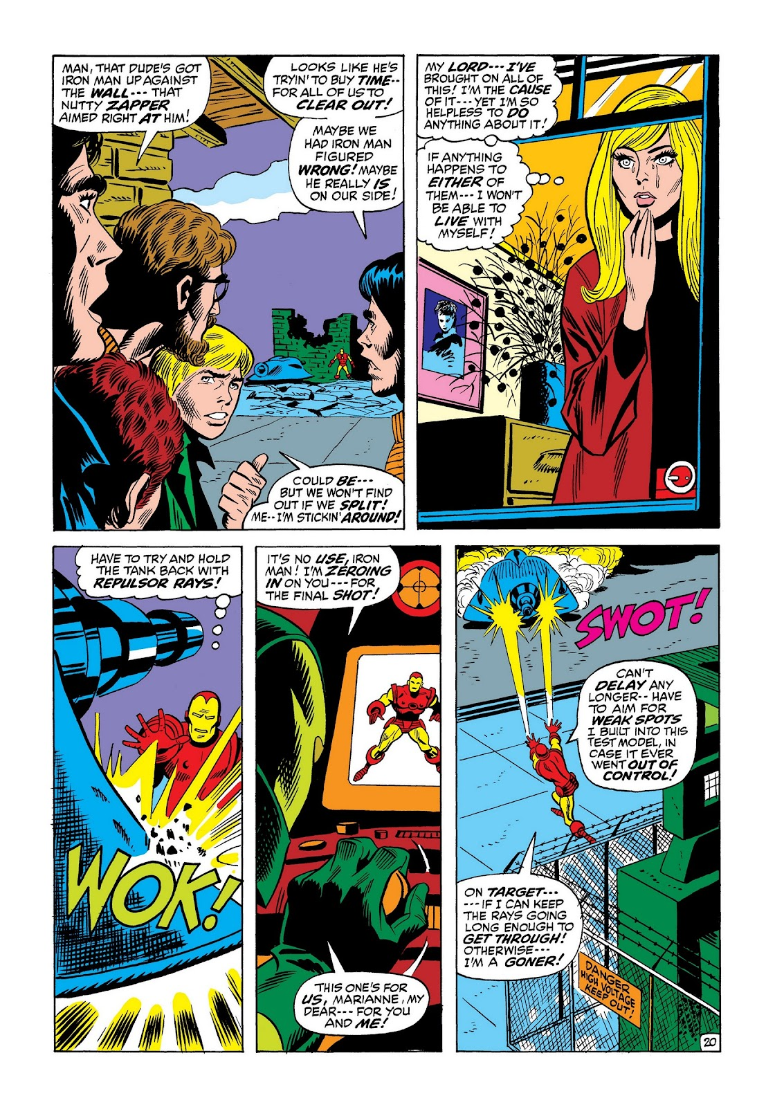 Read online Marvel Masterworks: The Invincible Iron Man comic -  Issue # TPB 8 (Part 2) - 64