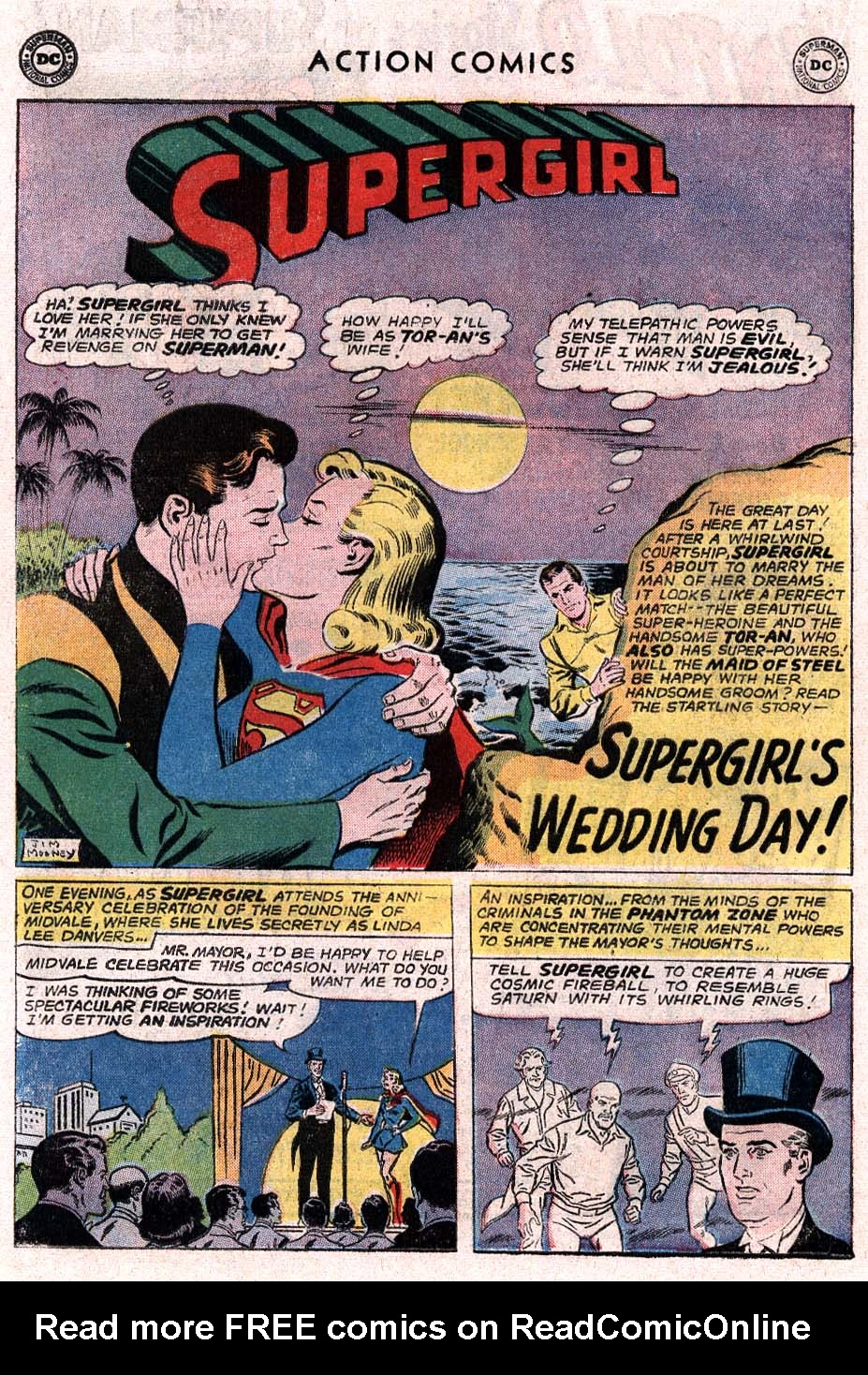 Read online Action Comics (1938) comic -  Issue #307 - 16