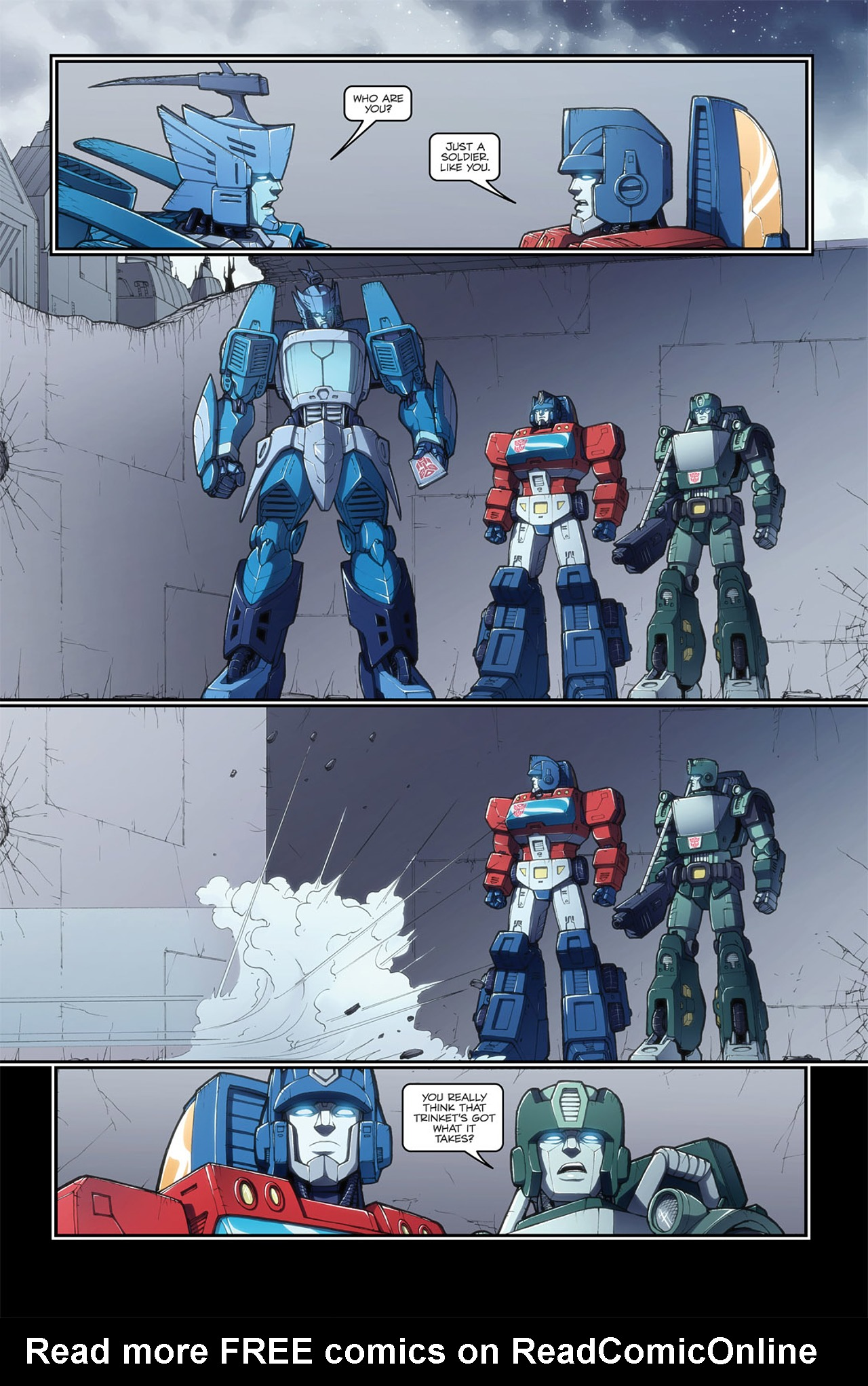 Read online Transformers Spotlight: Blurr comic -  Issue # Full - 23