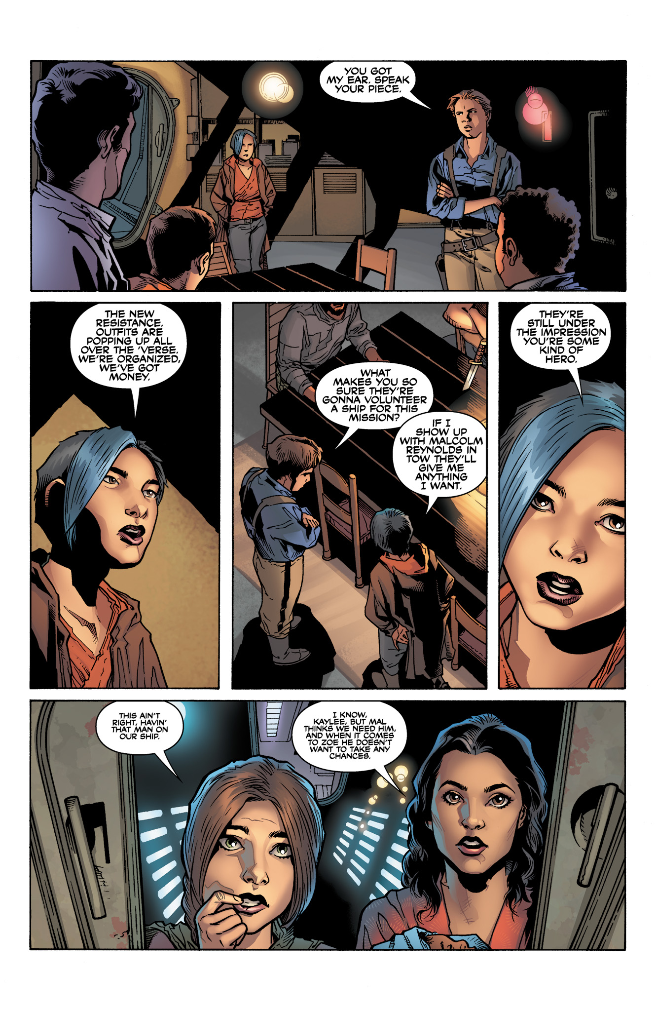 Read online Serenity: Firefly Class 03-K64  Leaves on the Wind comic -  Issue #4 - 8