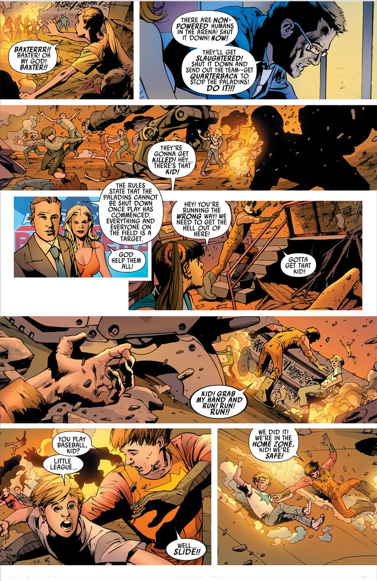 Read online America's Got Powers comic -  Issue #2 - 28