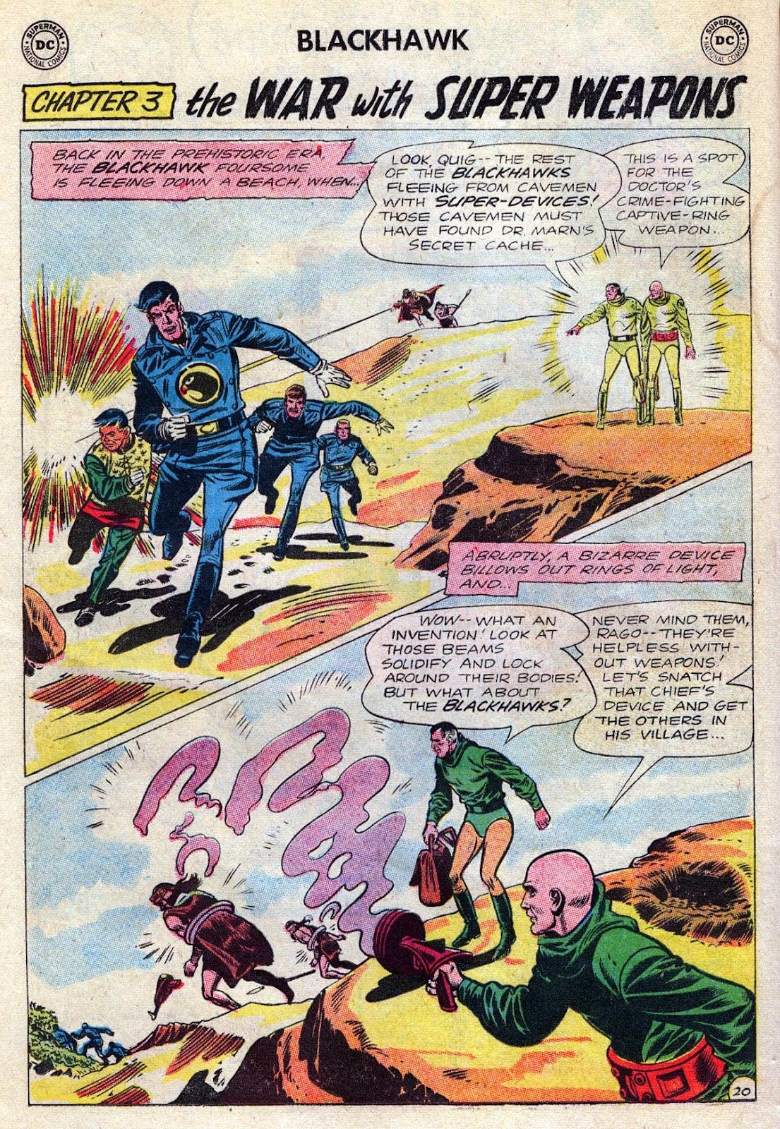 Blackhawk (1957) Issue #189 #82 - English 26