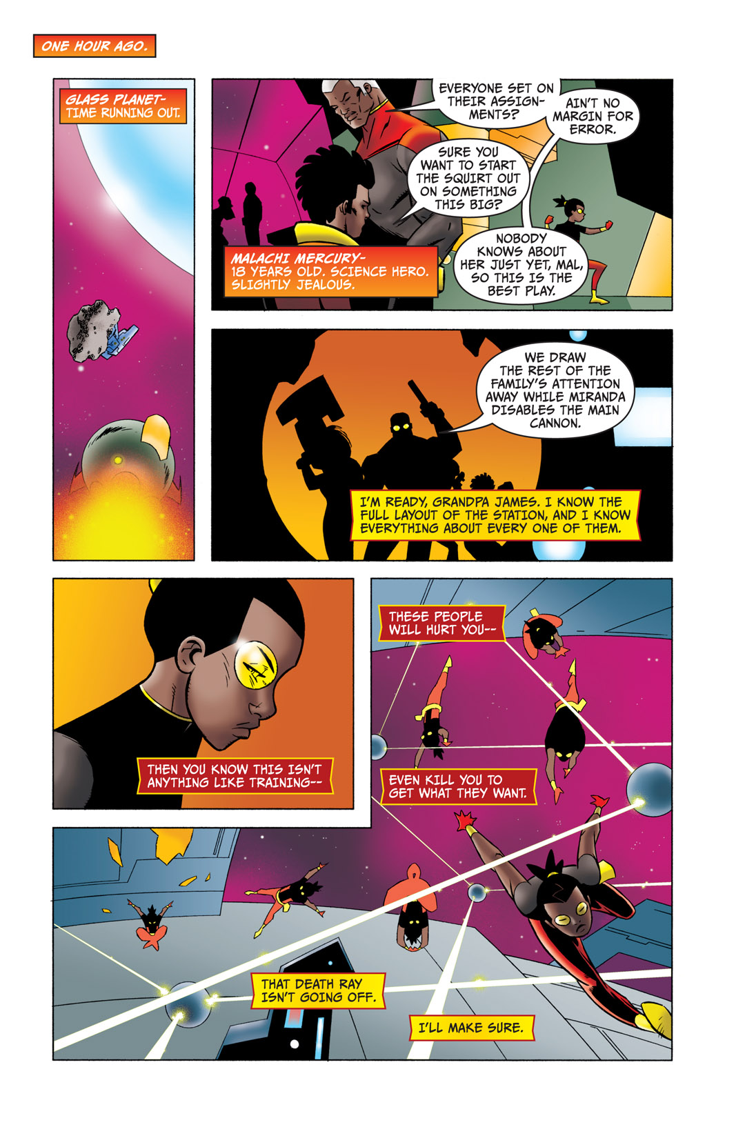 Read online The Many Adventures of Miranda Mercury: Time Runs Out comic -  Issue # TPB - 5
