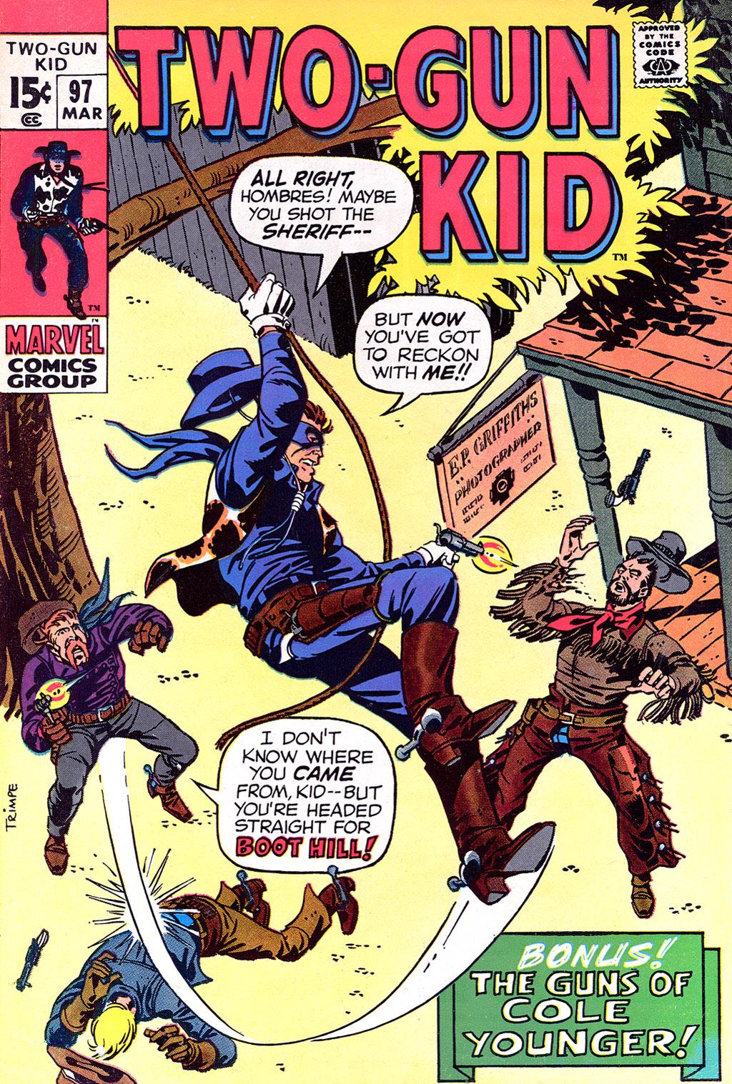 Read online Two-Gun Kid comic -  Issue #97 - 1