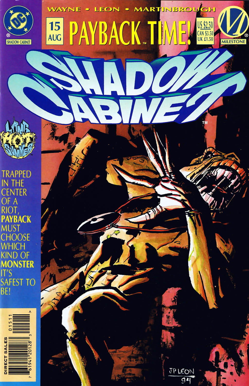 Read online Shadow Cabinet comic -  Issue #15 - 1