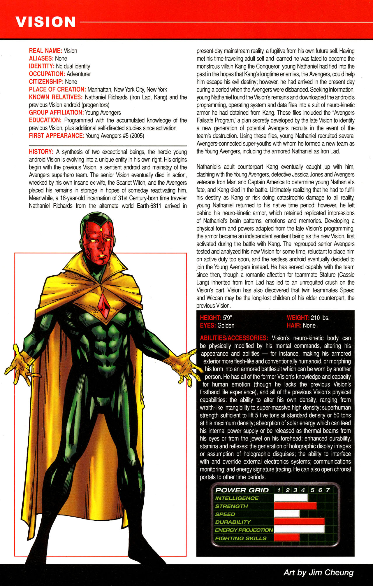 Read online All-New Official Handbook of the Marvel Universe A to Z comic -  Issue #12 - 22