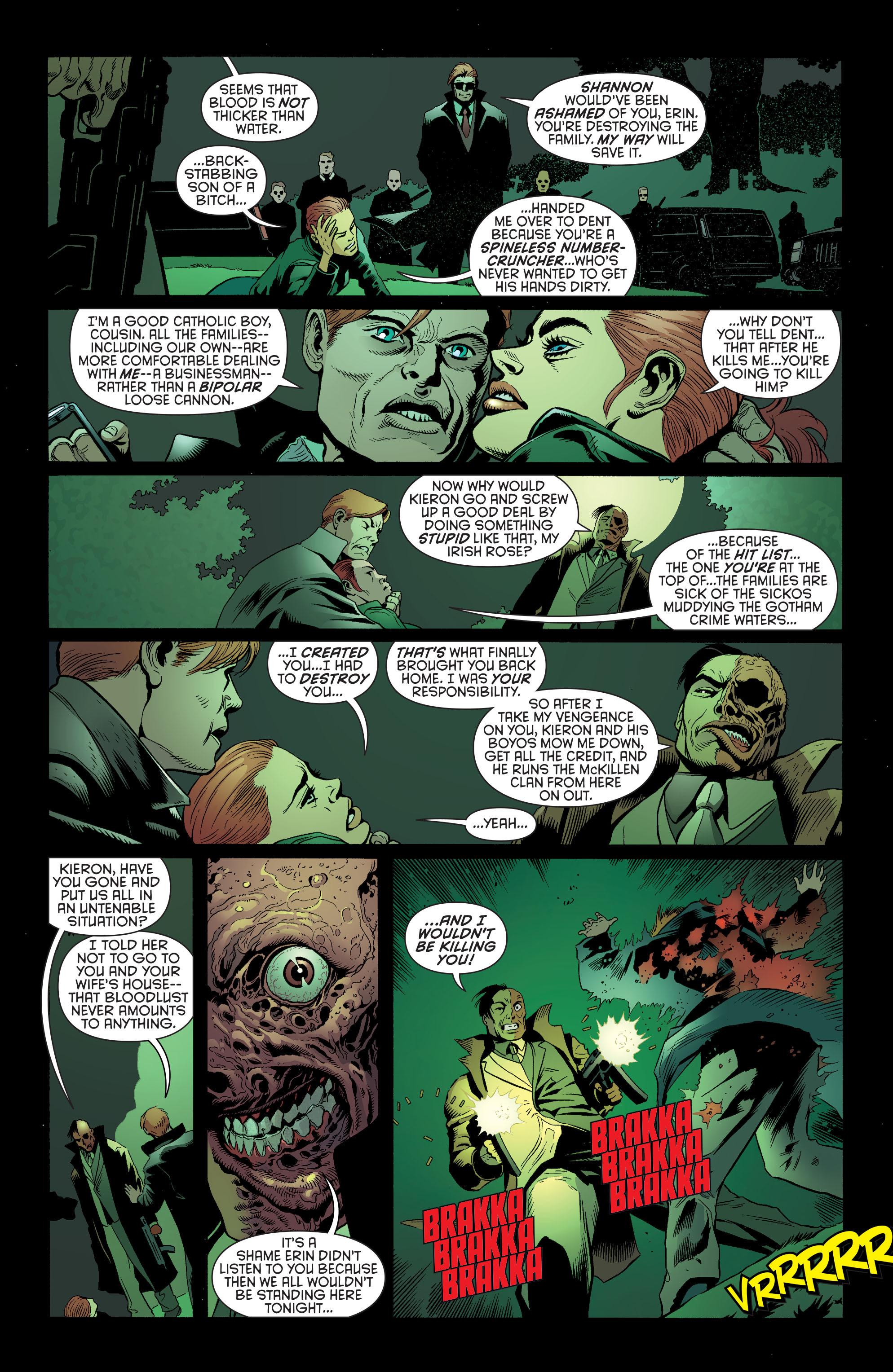 Read online Batman and Robin (2011) comic -  Issue #26 - Batman and Two-Face - 16