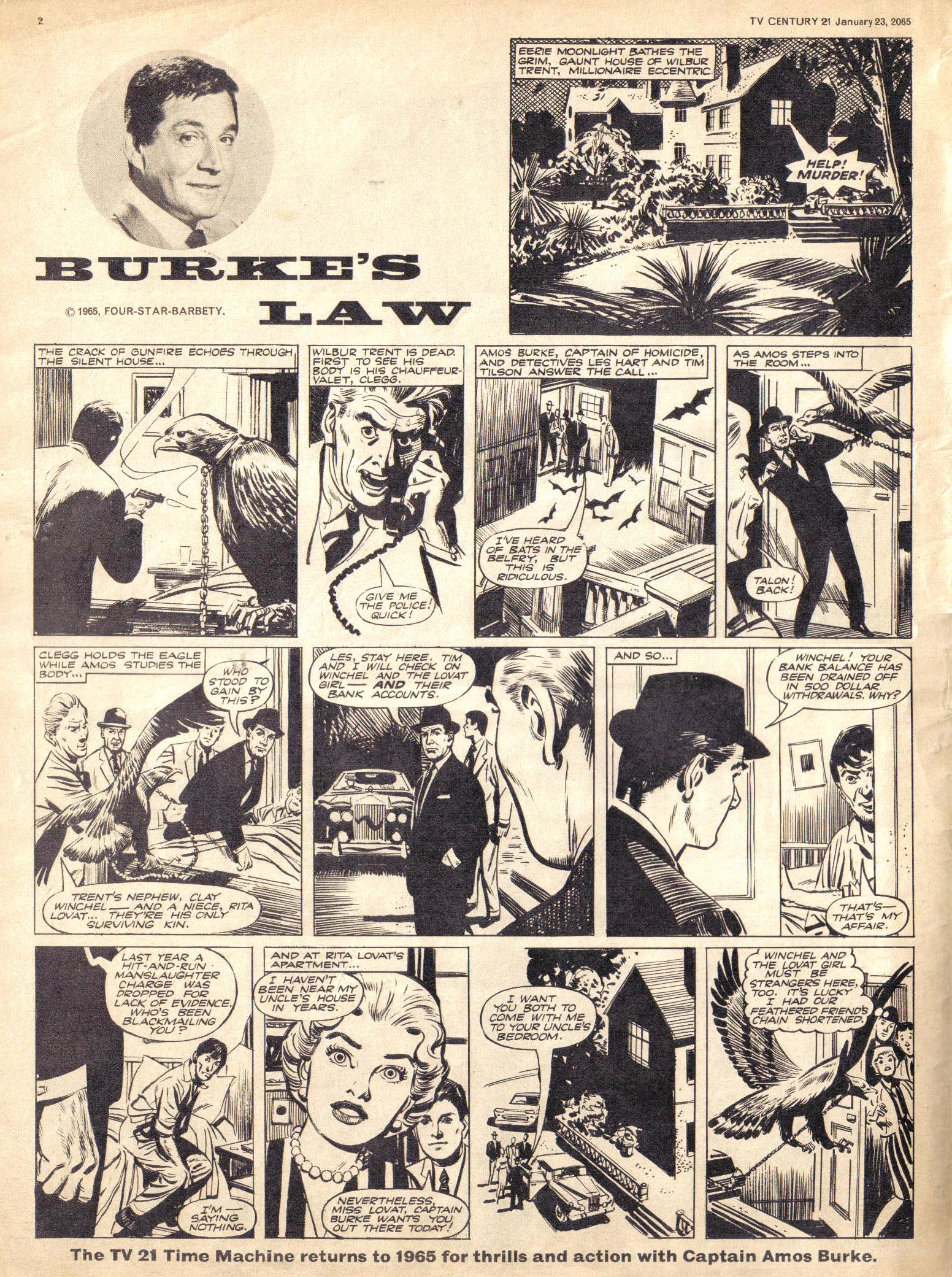 Read online TV Century 21 (TV 21) comic -  Issue #1 - 2