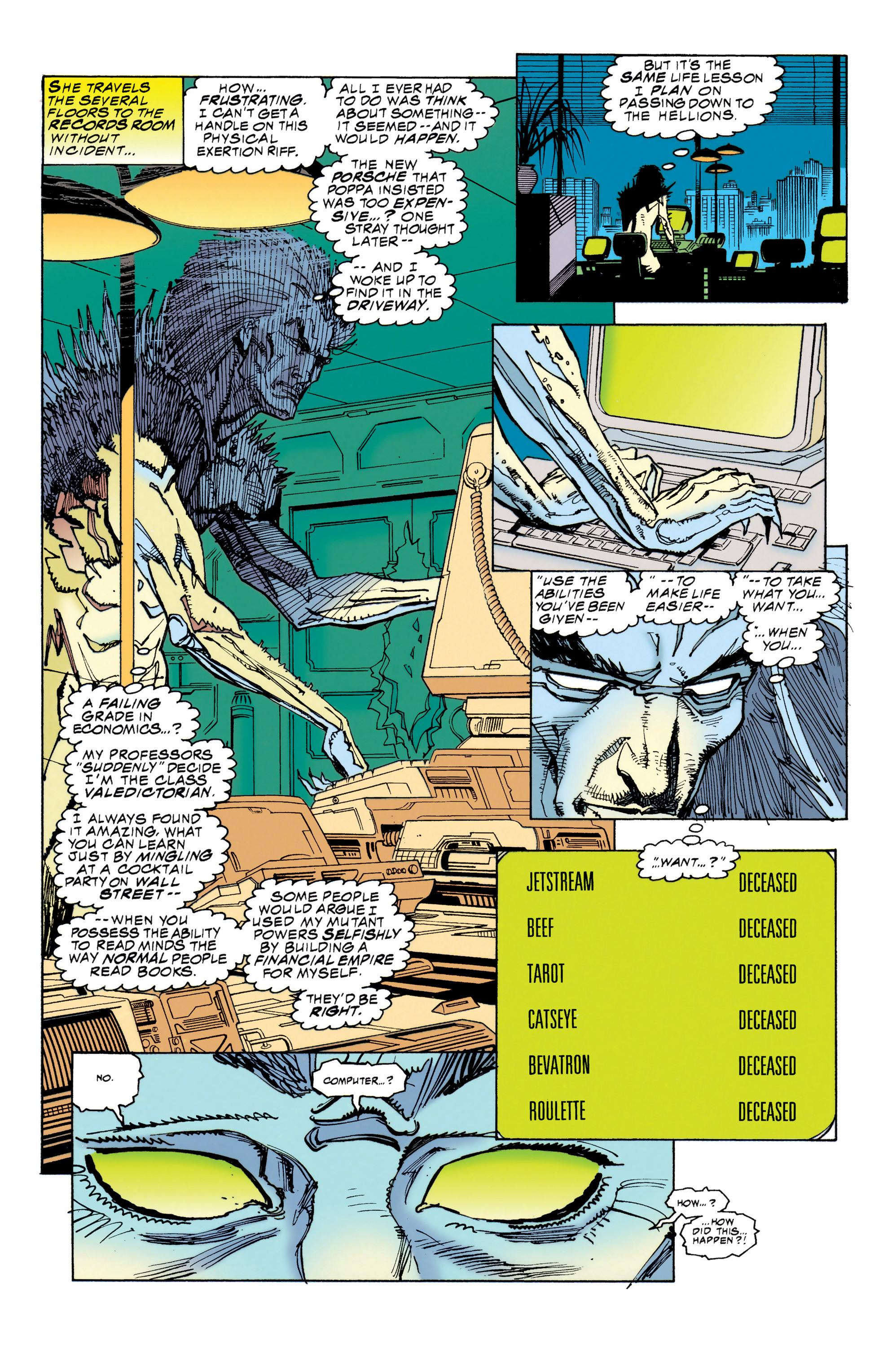 Read online Uncanny X-Men (1963) comic -  Issue #314 - 16