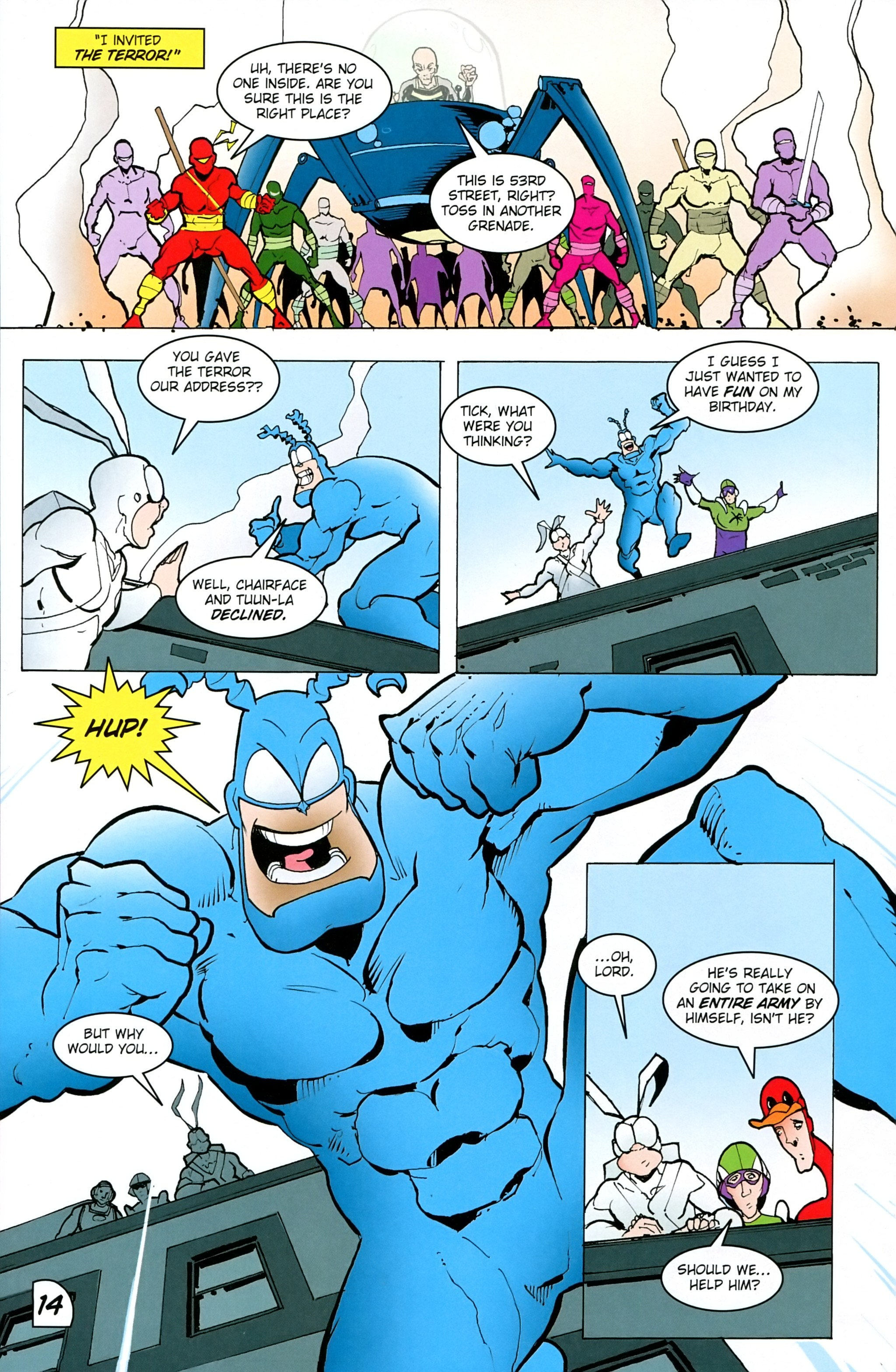 Read online Free Comic Book Day 2017 comic -  Issue # The Tick - 16