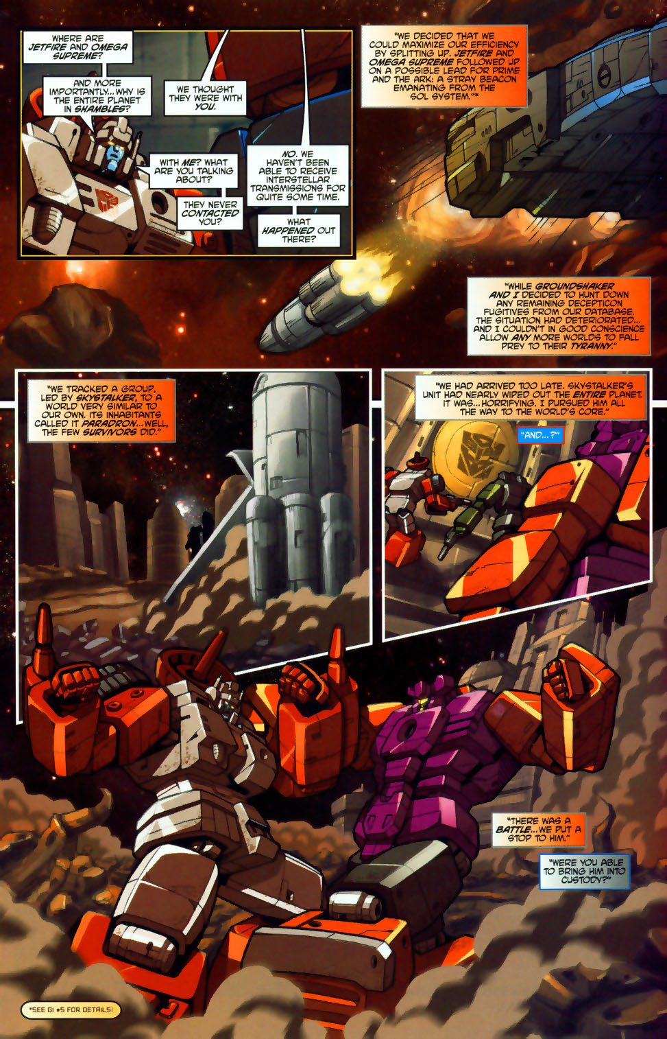 Read online Transformers: Micromasters comic -  Issue #1 - 11
