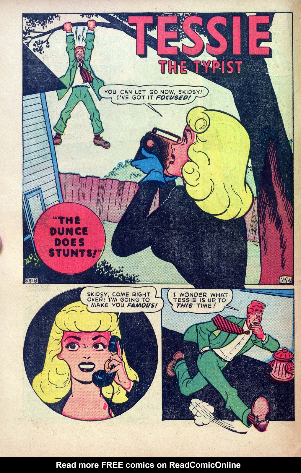 Read online Joker Comics comic -  Issue #31 - 10