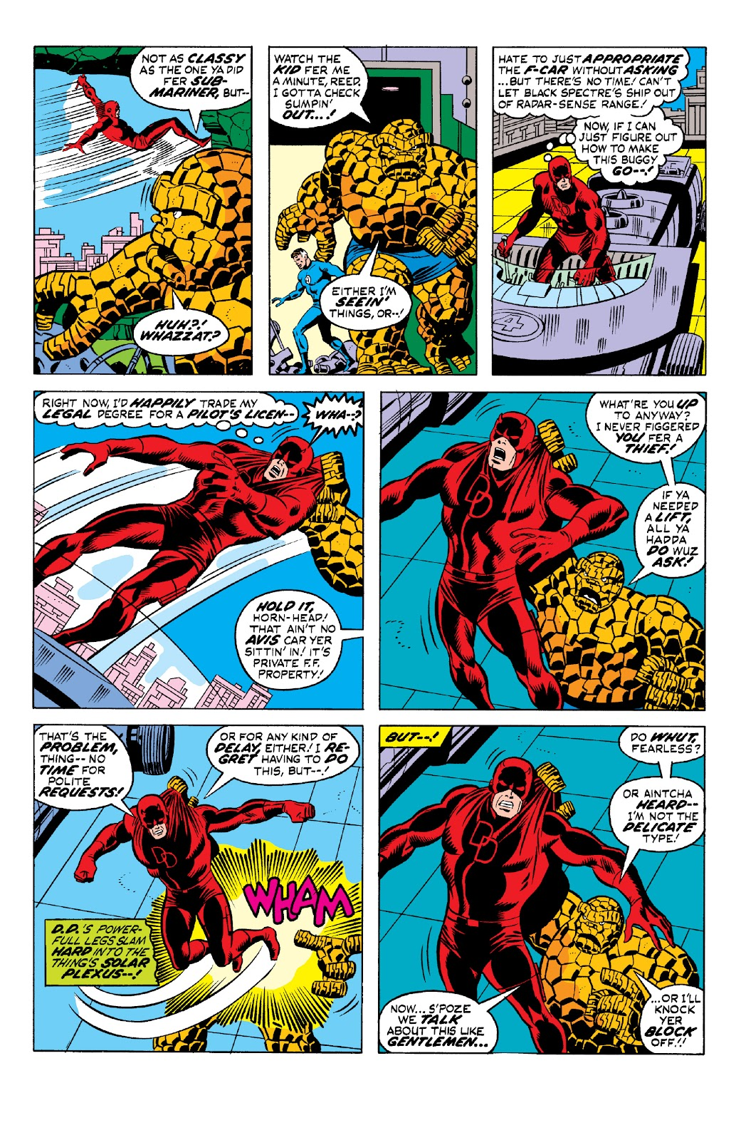 Read online Marvel Two-In-One Epic Collection: Cry Monster comic -  Issue # TPB (Part 1) - 99