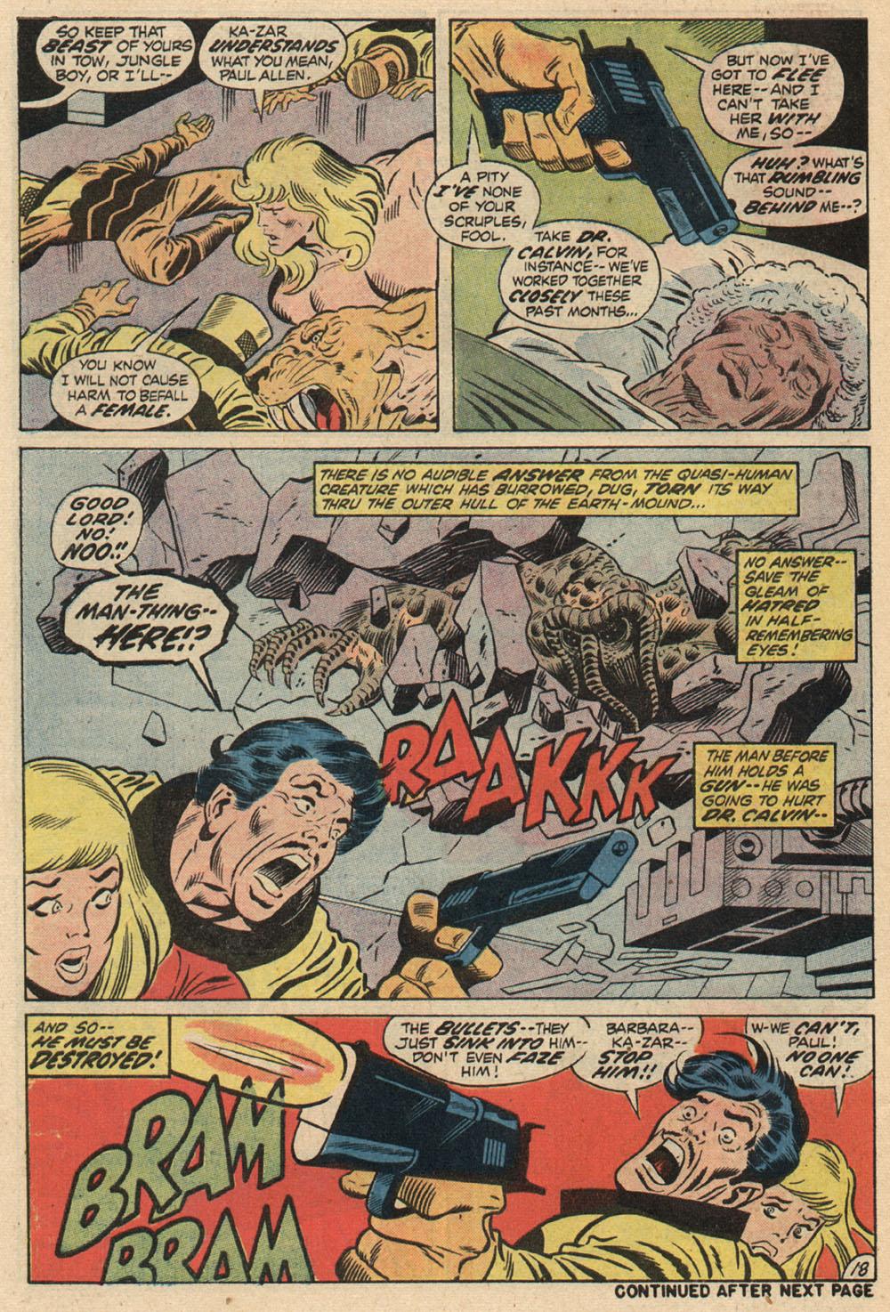 Read online Astonishing Tales (1970) comic -  Issue #13 - 20