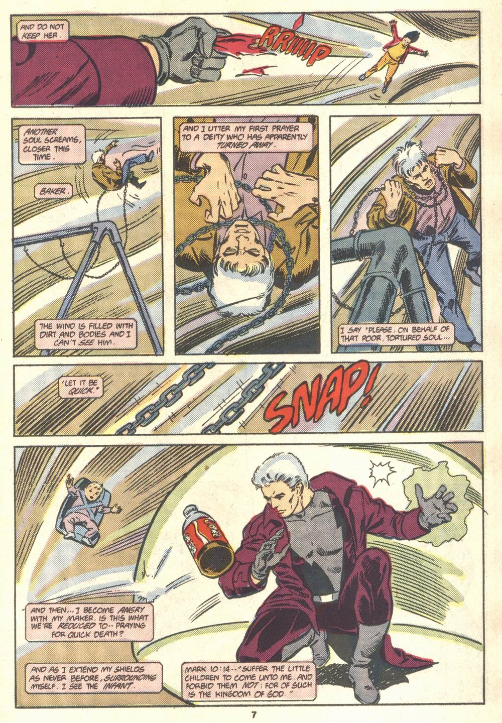 Read online Justice (1986) comic -  Issue #18 - 8