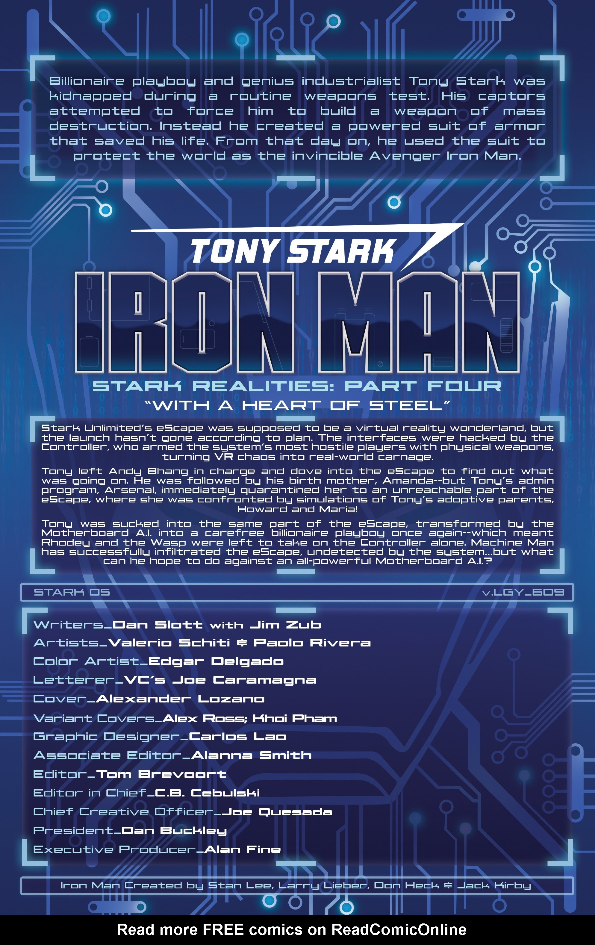 Read online Tony Stark: Iron Man comic -  Issue #9 - 2