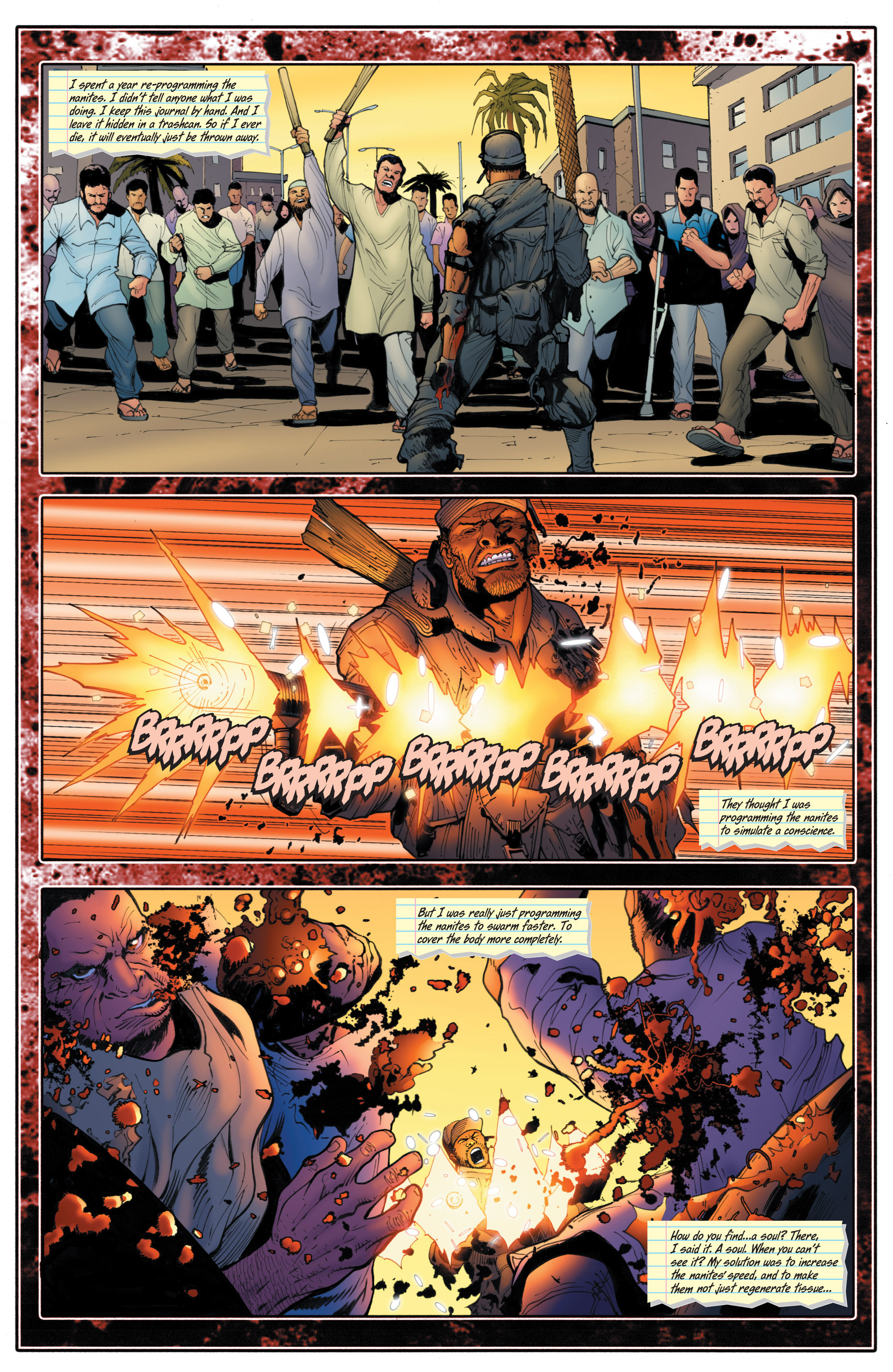Read online Bloodshot and H.A.R.D.Corps comic -  Issue # TPB 4 - 112
