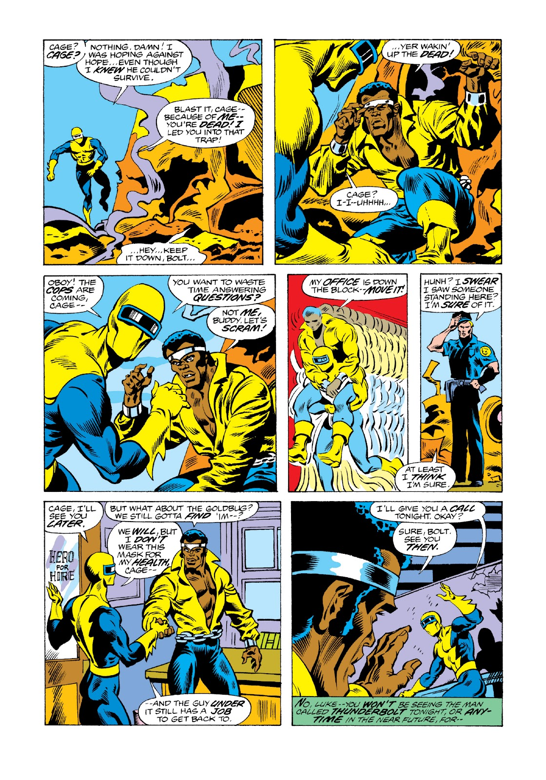 Read online Marvel Masterworks: Luke Cage, Power Man comic -  Issue # TPB 3 (Part 3) - 31