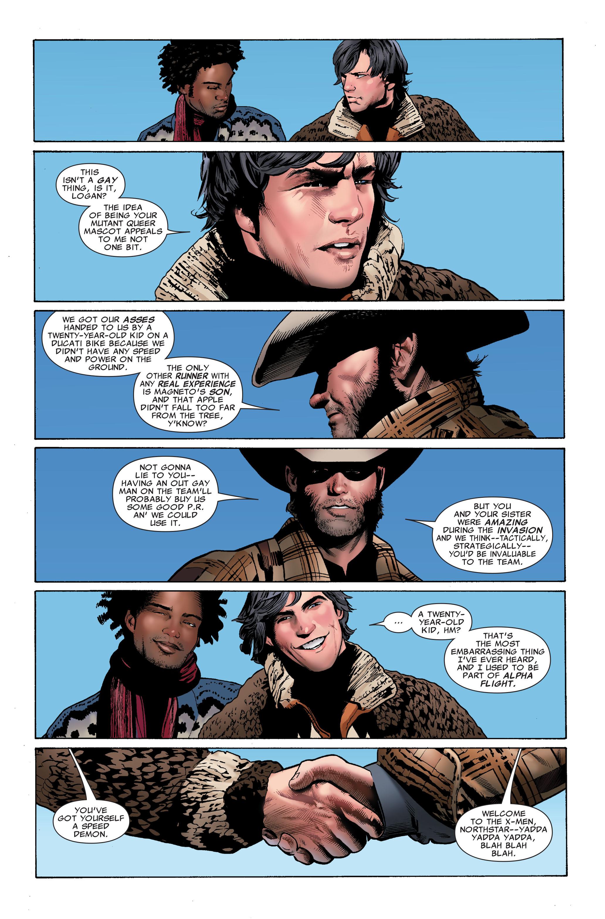 Read online Uncanny X-Men (1963) comic -  Issue #508 - 22