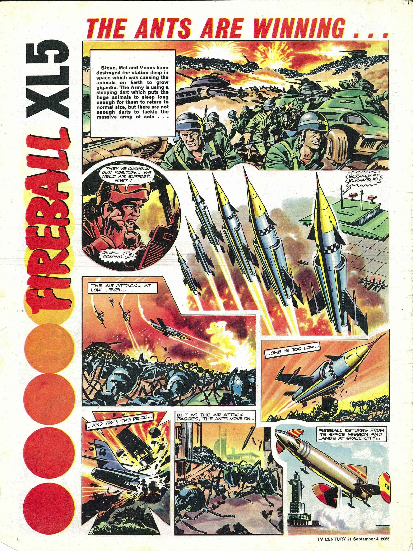 Read online TV Century 21 (TV 21) comic -  Issue #33 - 4