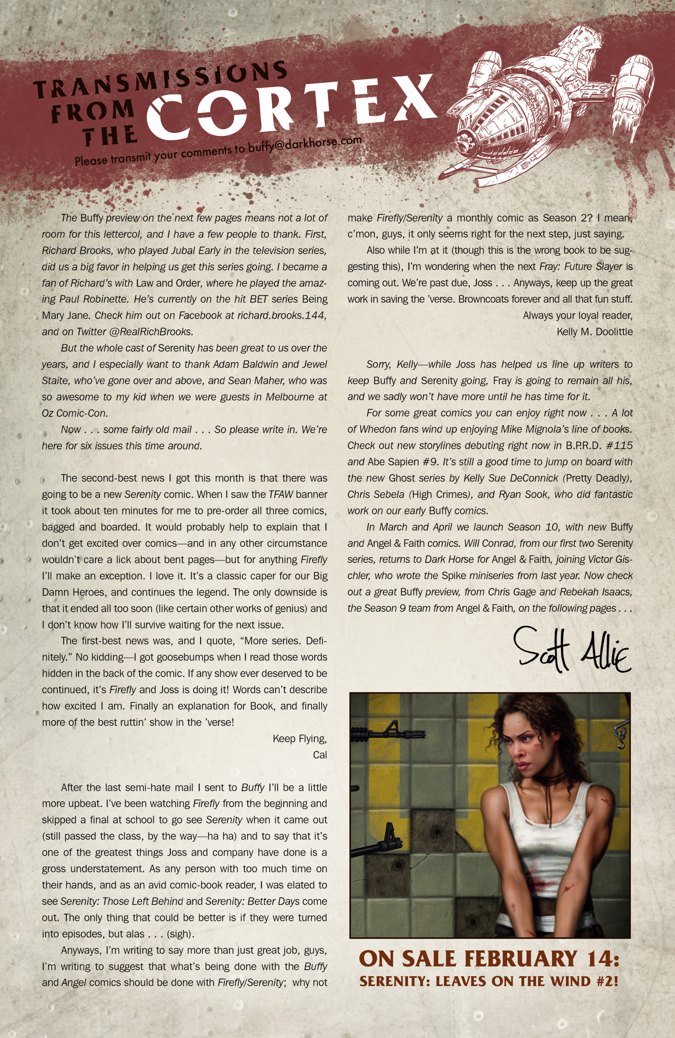 Read online Serenity: Firefly Class 03-K64  Leaves on the Wind comic -  Issue #1 - 26