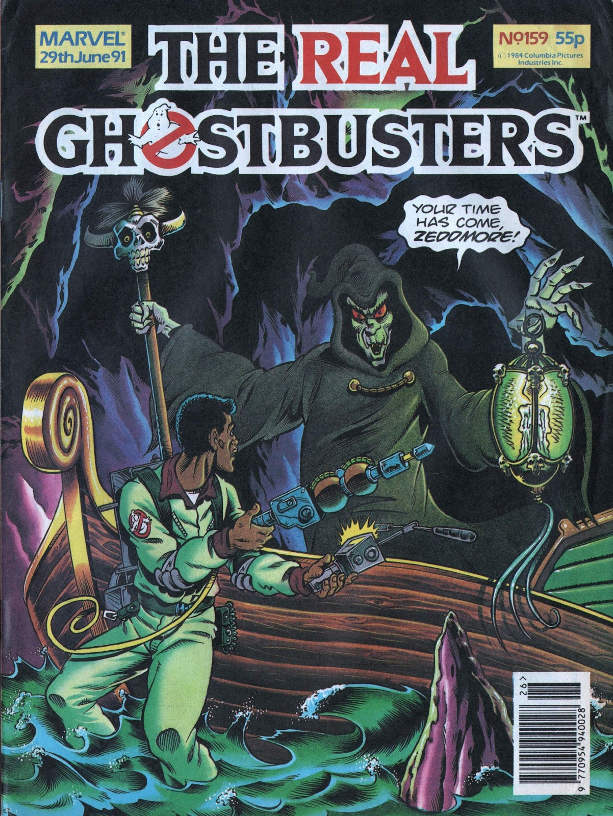 The Real Ghostbusters 159 Page 1