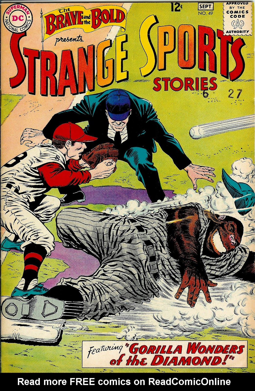 The Brave and the Bold (1955) issue 49 - Page 1