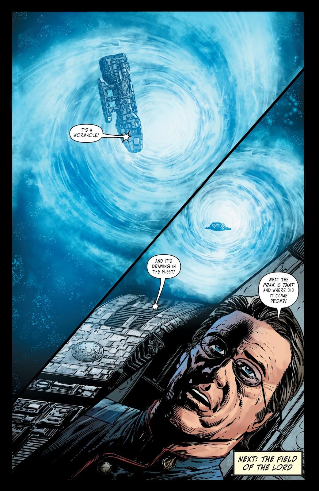 Battlestar Galactica BSG vs. BSG issue 1 - Page 25
