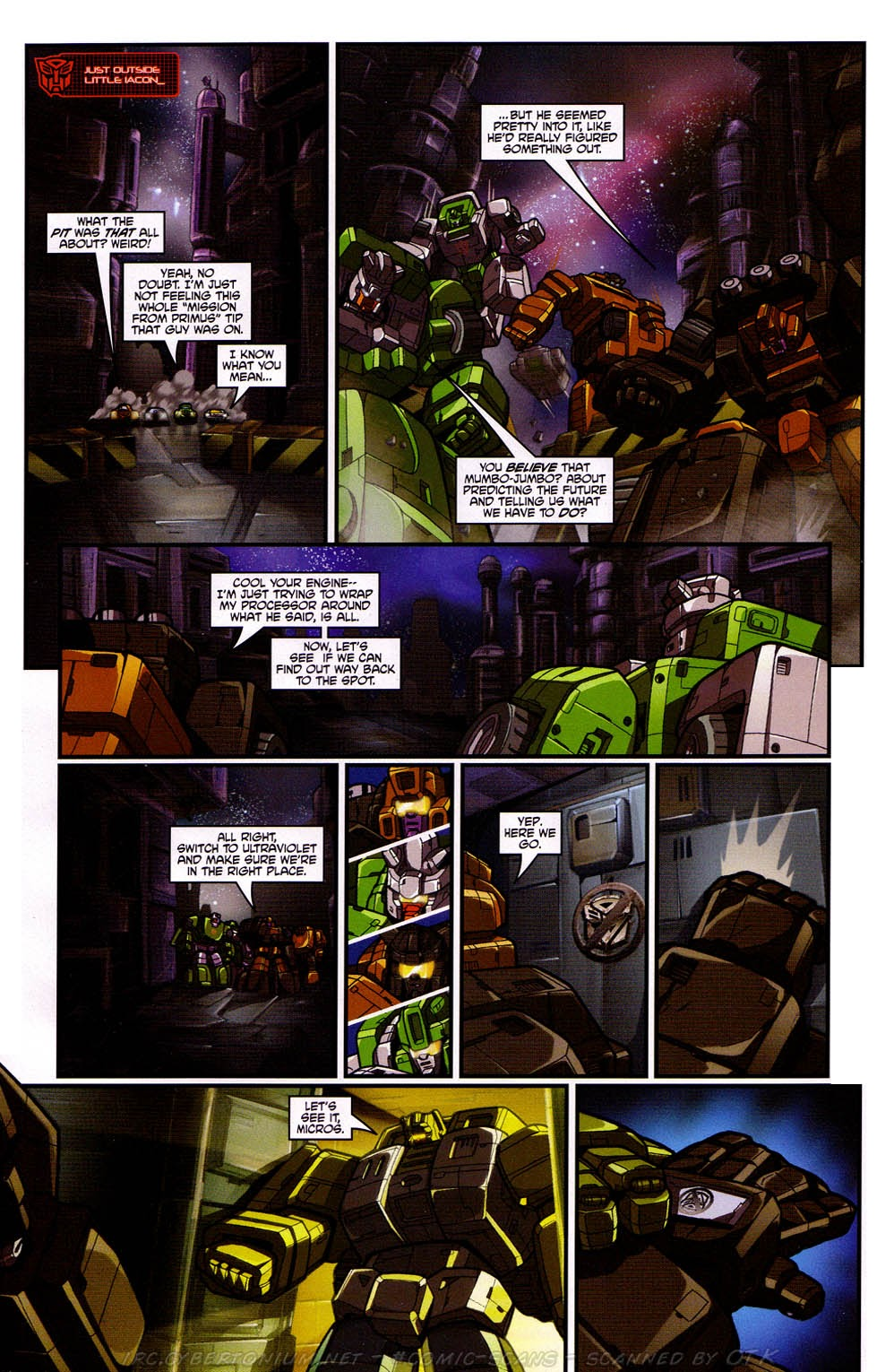 Read online Transformers: Micromasters comic -  Issue #2 - 13
