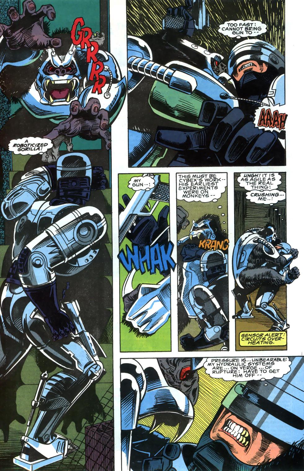Read online Robocop (1990) comic -  Issue #4 - 5