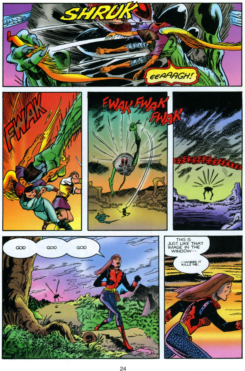 Read online Harsh Realm comic -  Issue #4 - 24
