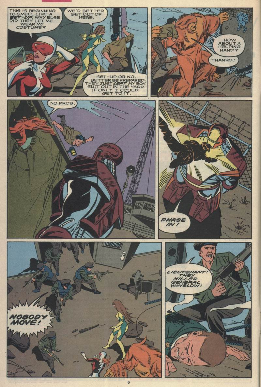 Read online Alpha Flight (1983) comic -  Issue #84 - 5