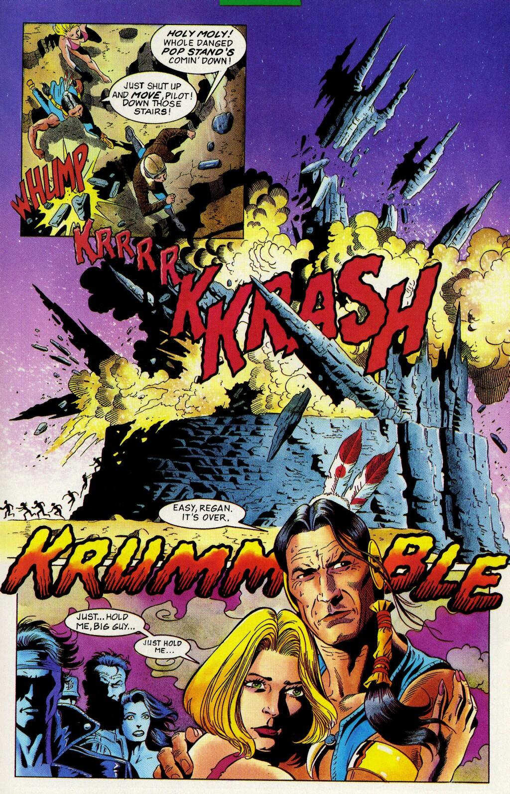 Read online Turok, Dinosaur Hunter (1993) comic -  Issue #33 - 21