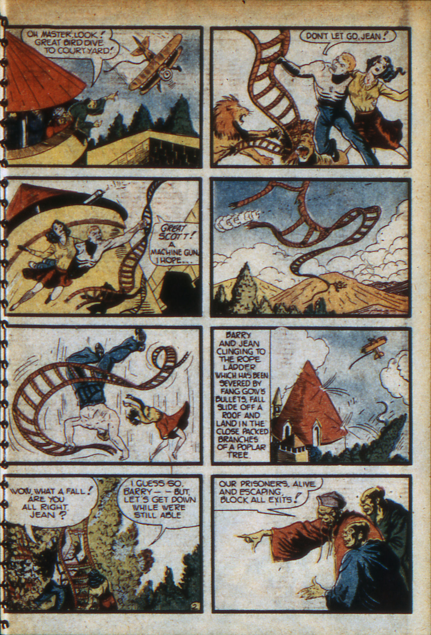 Read online Adventure Comics (1938) comic -  Issue #46 - 16