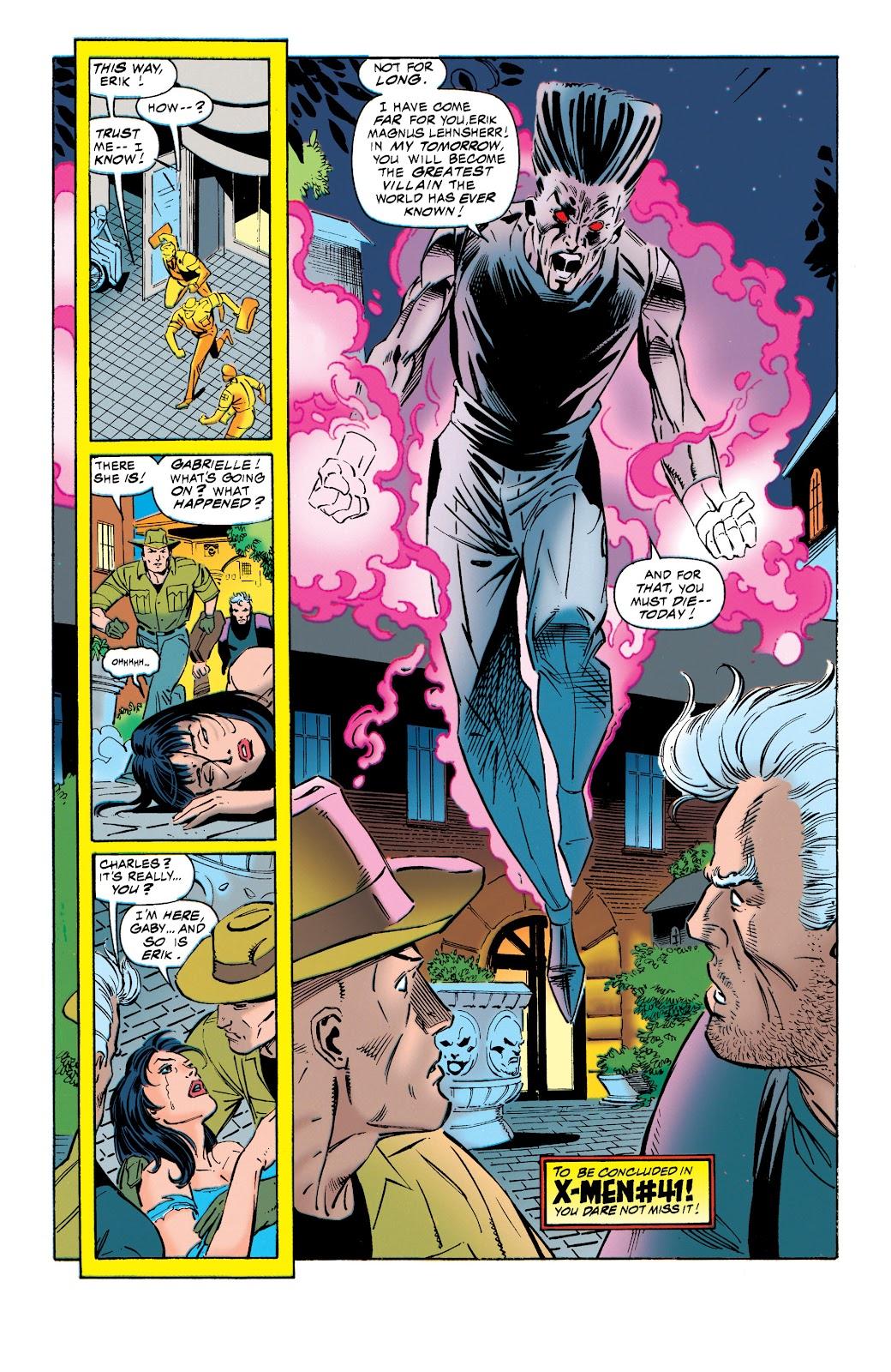 Uncanny X-Men (1963) issue 321 - Page 22