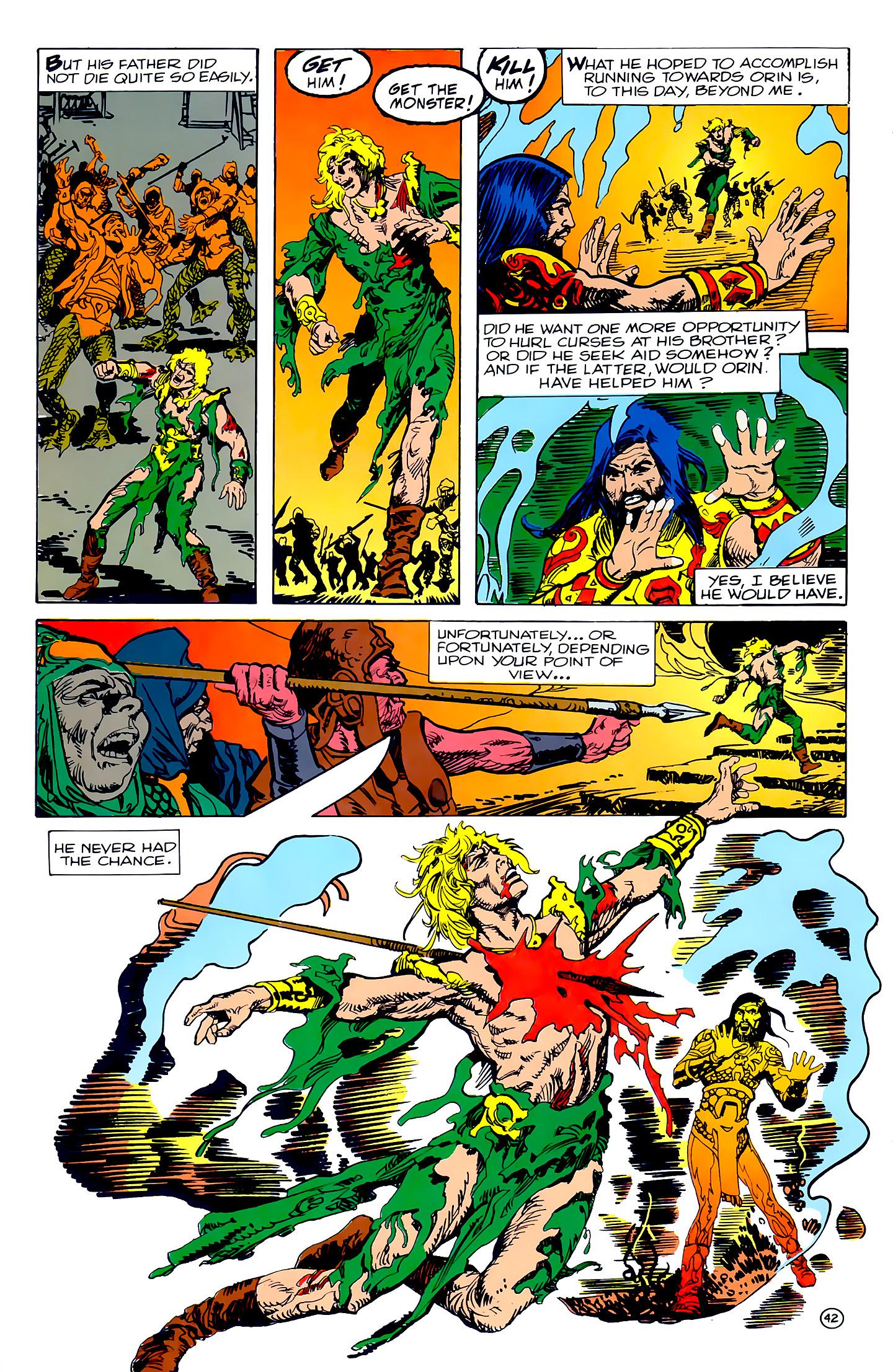 Read online Atlantis Chronicles comic -  Issue #2 - 42