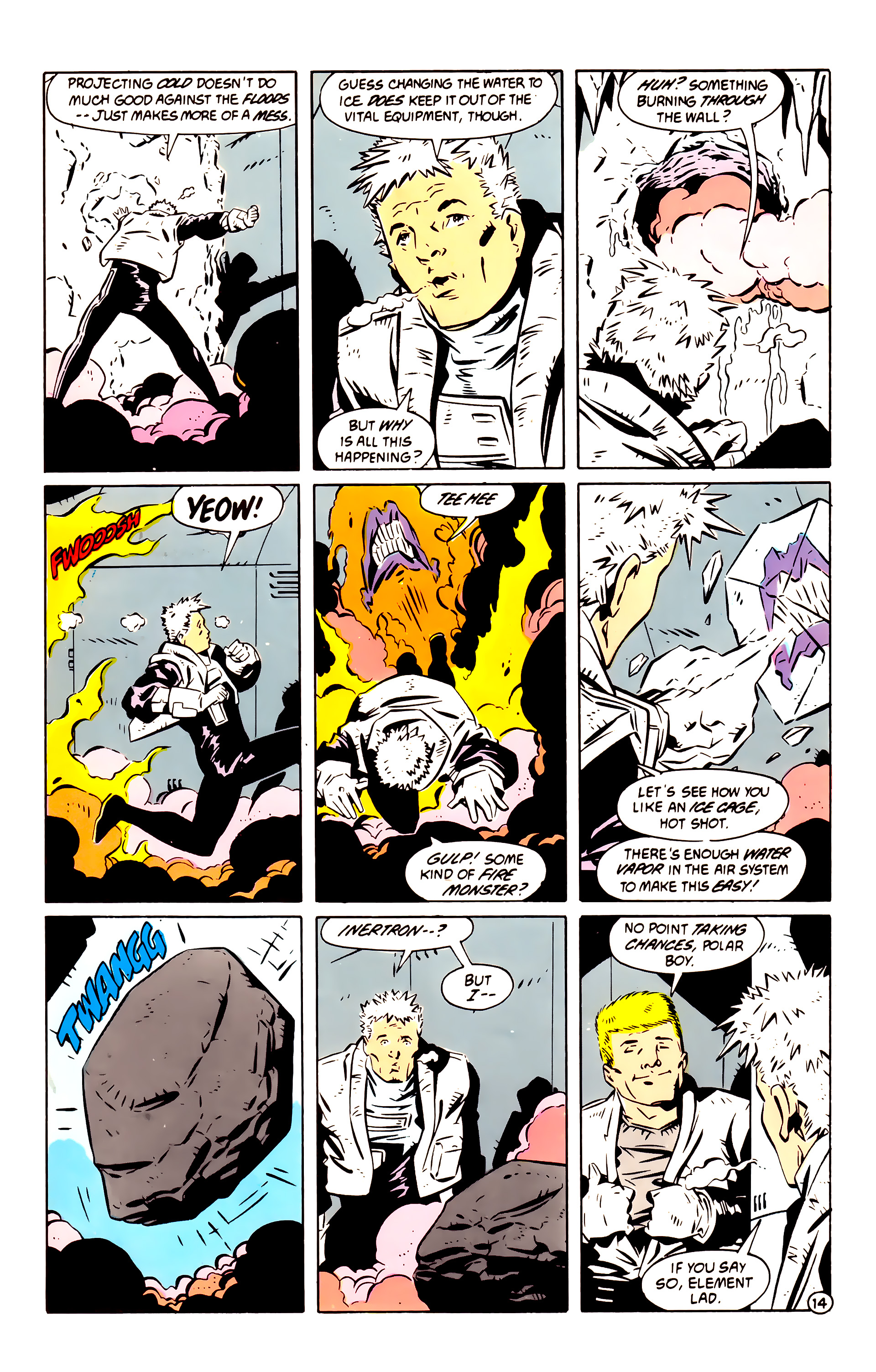 Legion of Super-Heroes (1984) 60 Page 14