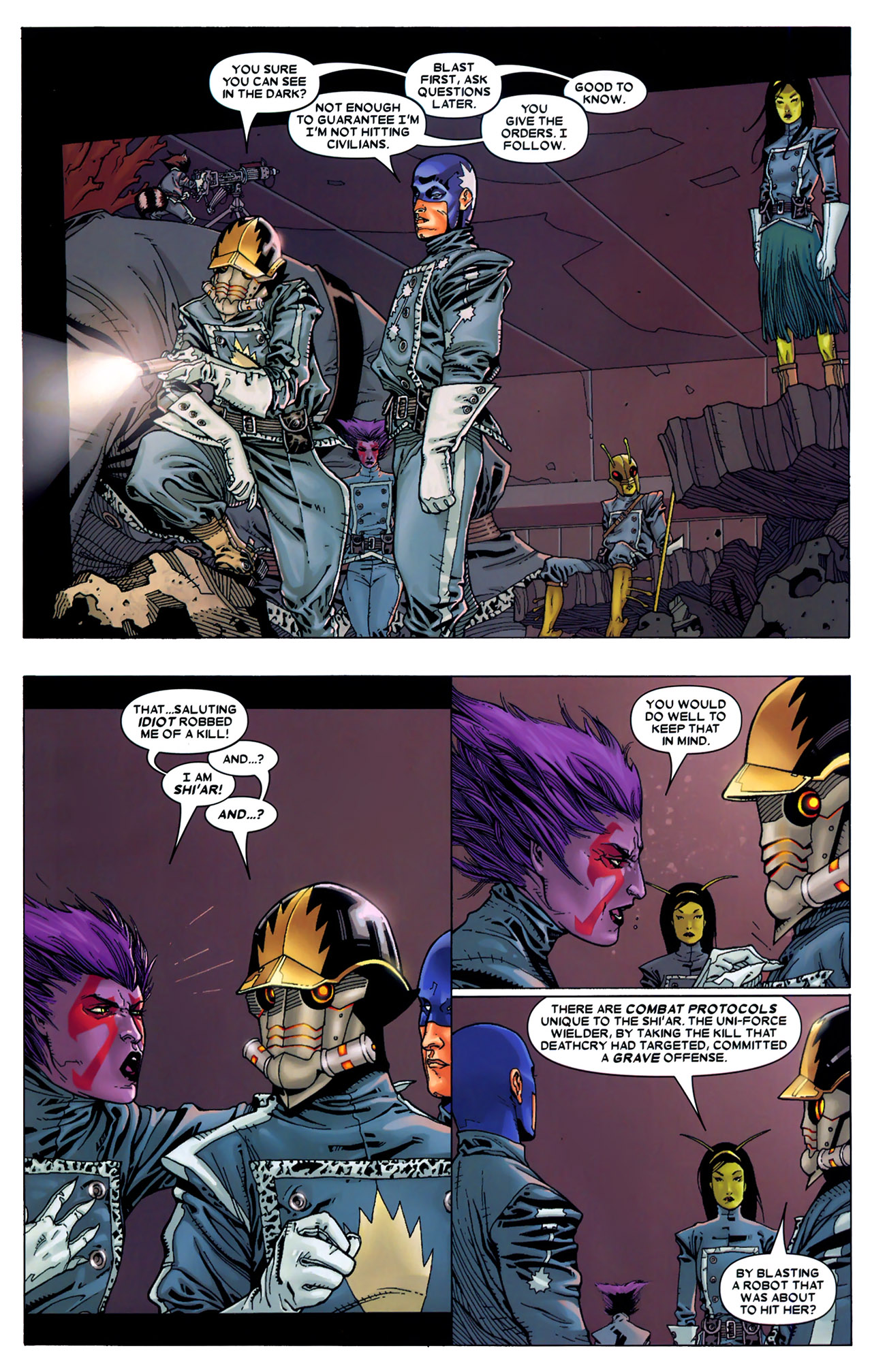 Read online Annihilation: Conquest - Starlord comic -  Issue #2 - 7